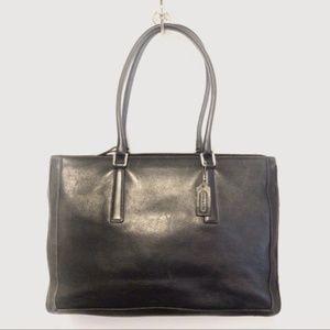 Coach Vintage XL Business Tote Bag 9426, Black
